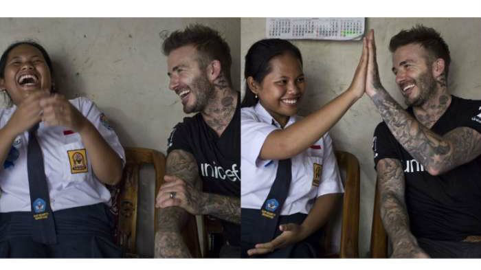 david beckham di Indonesia